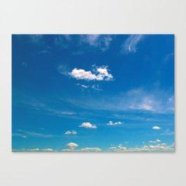Sky is no limit Canvas Print