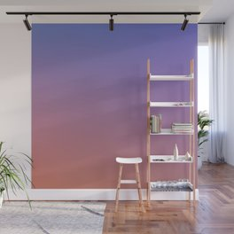 OXIDISED METAL - Minimal Plain Soft Mood Color Blend Prints Wall Mural
