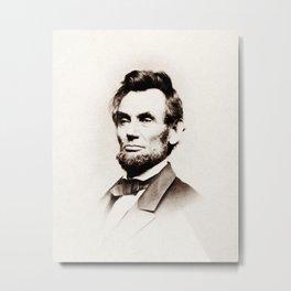 Abraham Lincoln Portrait - Mathew Brady 1864 Metal Print