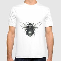 Bumblebee Mens Fitted Tee MEDIUM White