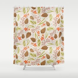 Quiet Walk In The Forest - A Soft And Lovely Pattern Shower Curtain