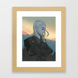 Something Very Special Framed Art Print