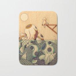 Summer by the Sea Bath Mat
