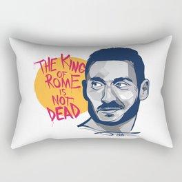 Francesco Totti - The King of Rome is not dead Rectangular Pillow