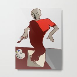 Create Art You Metal Print