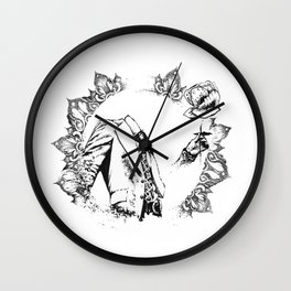 The Headless Bruce - MiguelRC Wall Clock
