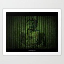 Peaceful Buddha Art Print
