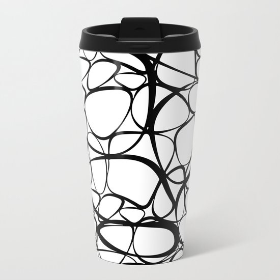 The Net Metal Travel Mug
