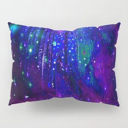 TREES MOON AND SHOOTING STARS Pillow Sham