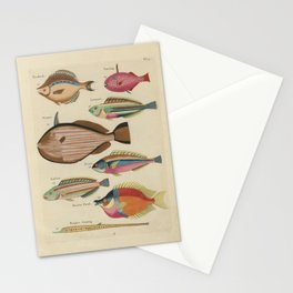 Vintage Fish Illustration III Stationery Cards