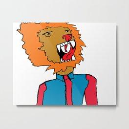 lion color Metal Print