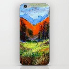 Mountain Meadow Landscape iPhone Skin