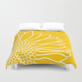 Sunflower Cheerfulness Duvet Cover