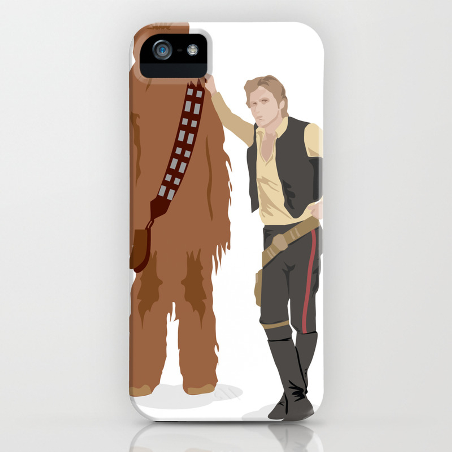 finest selection c6cc1 31a89 Han Solo and Chewbacca iPhone Case