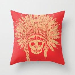 KC Headdress Throw Pillow