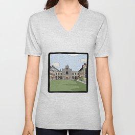 Cambridge Struggles: Peterhouse College Unisex V-Neck