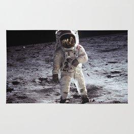 Apollo 11 - Buzz Aldrin On The Moon Rug