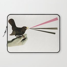 Bird in the Hand Laptop Sleeve