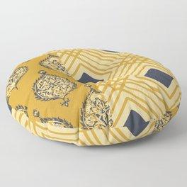 Pompeii in Gold Floor Pillow