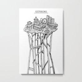 Göteborg Metal Print