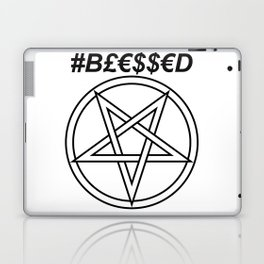 TRULY #BLESSED INVERTED INVERSE Laptop & iPad Skin
