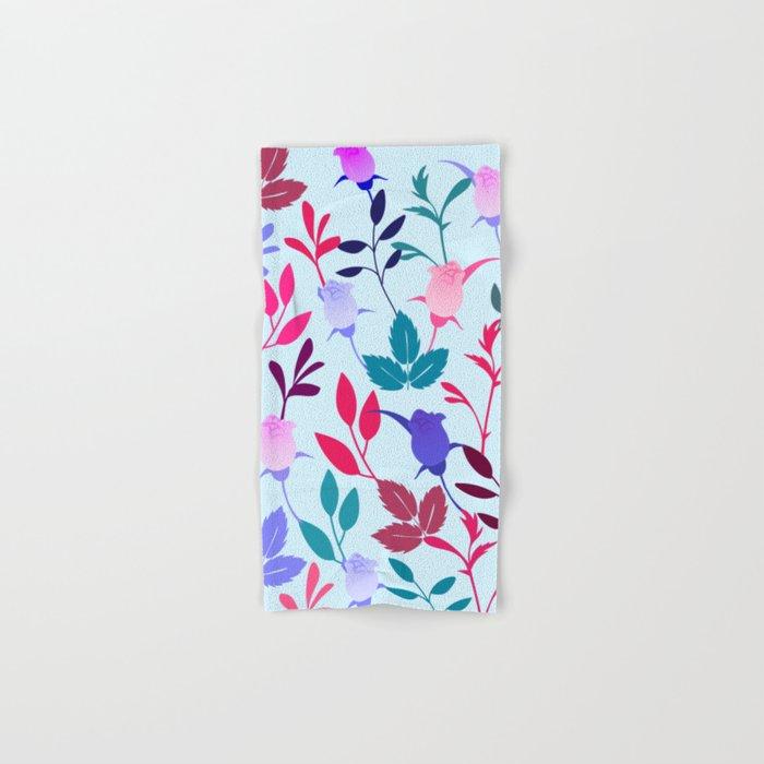 Flower Pattern III Hand & Bath Towel