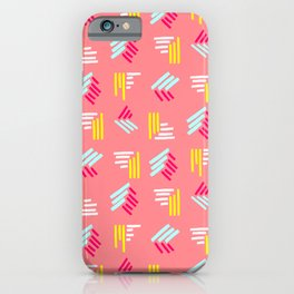 90s Squiggles iPhone Case