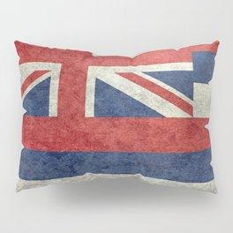 Flag of Hawaii, Retro Vintage Pillow Sham