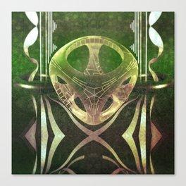Emerald pattern Canvas Print