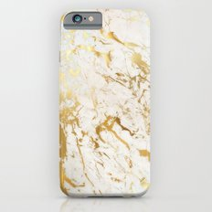 Gold marble Slim Case iPhone 6