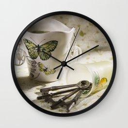 Keepsakes II Wall Clock