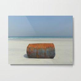 Water & Barrels II Metal Print