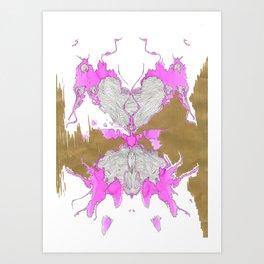 partial reflections Art Print
