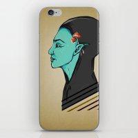 elf iPhone & iPod Skins featuring Elf by Adelinne