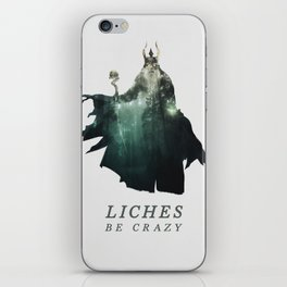 Lich (Typography) iPhone Skin