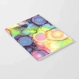 raining in the circles Notebook