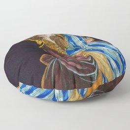 Charles Frederick Worth Kiss Floor Pillow
