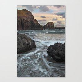 Kynance Cove, The Lizard, Cornwall, England, United Kingdom Canvas Print