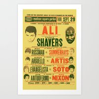 Ali - Heavy Weight Champion Art Print