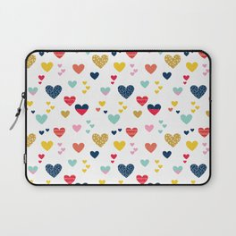 cheerful hearts Laptop Sleeve