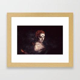 orgasm / luminescent series Framed Art Print