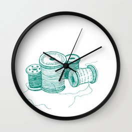 Mend your heart thread Wall Clock