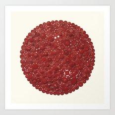 Red Target Art Print