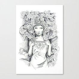 Sefira Canvas Print