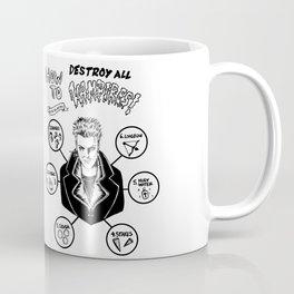 How To Kill A Lost Boy Coffee Mug