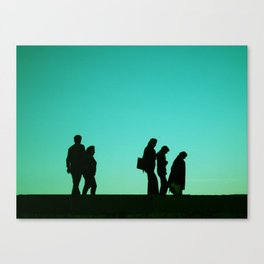 Time Line Canvas Print