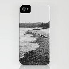 Summer Beach Black and White iPhone (4, 4s) Slim Case