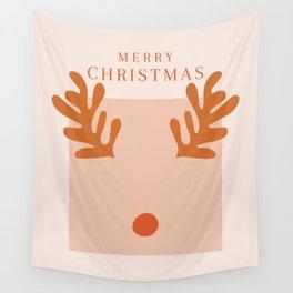Inspired by Matisse Reindeer  Wall Tapestry
