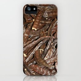 Harvested Carob Pods - Haripur iPhone Case
