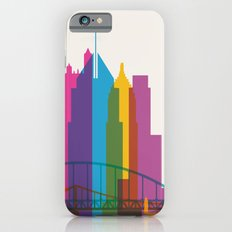 Shapes of Pittsburgh. Accurate to scale iPhone 6s Slim Case